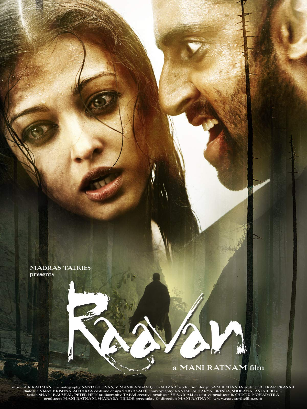 Raavan 2010 Hindi Movie 720p HDRip 1.2GB Download