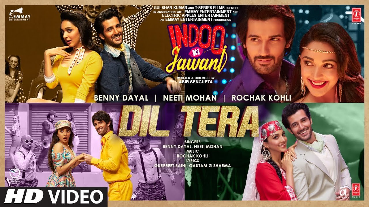 Dil Tera (Indoo Ki Jawani) 2020 Hindi Video Song 1080p HDRip x264 AAC