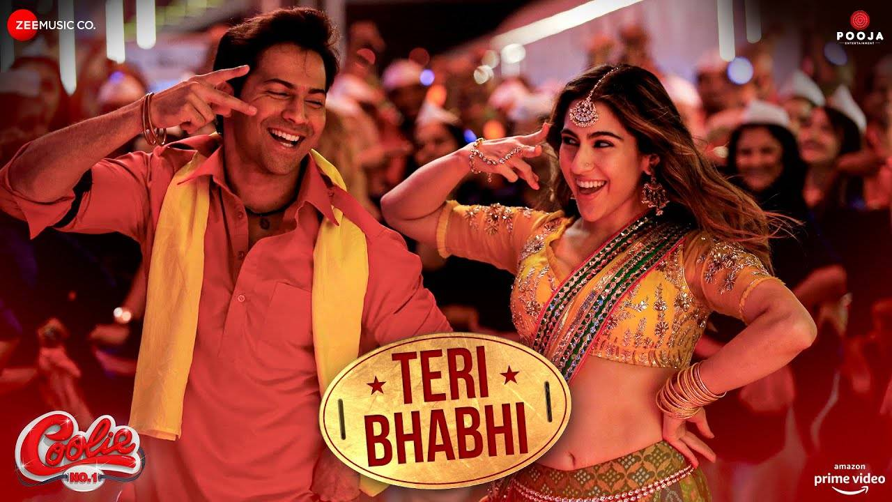 Teri Bhabhi (Coolie No.1) 2020 Hindi Video Song 1080p HDRip 54MB Download