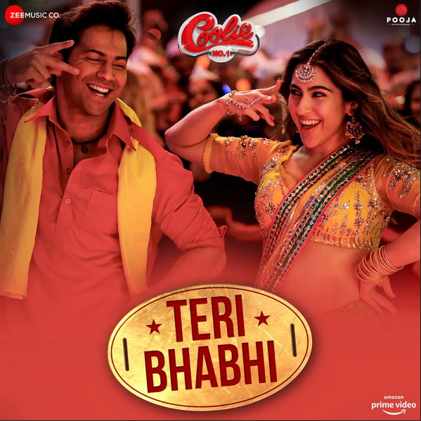 Teri Bhabhi (Coolie No.1) 2020 Hindi Movie Video Song 1080p HDRip 80MB Download