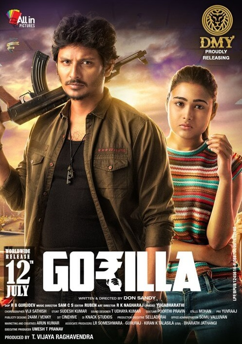 Gorilla 2019 Hindi Dual Audio 430MB UNCUT HDRip ESub Download