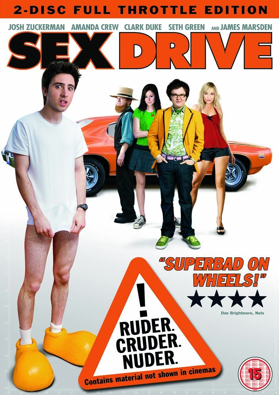 18+ Sex Drive 2008 English 450MB BluRay Download