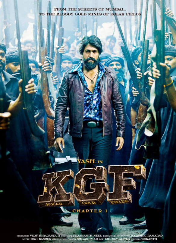 K.G.F: Chapter 1 (2018) Hindi Dubbed ORG HDRip 600MB Download