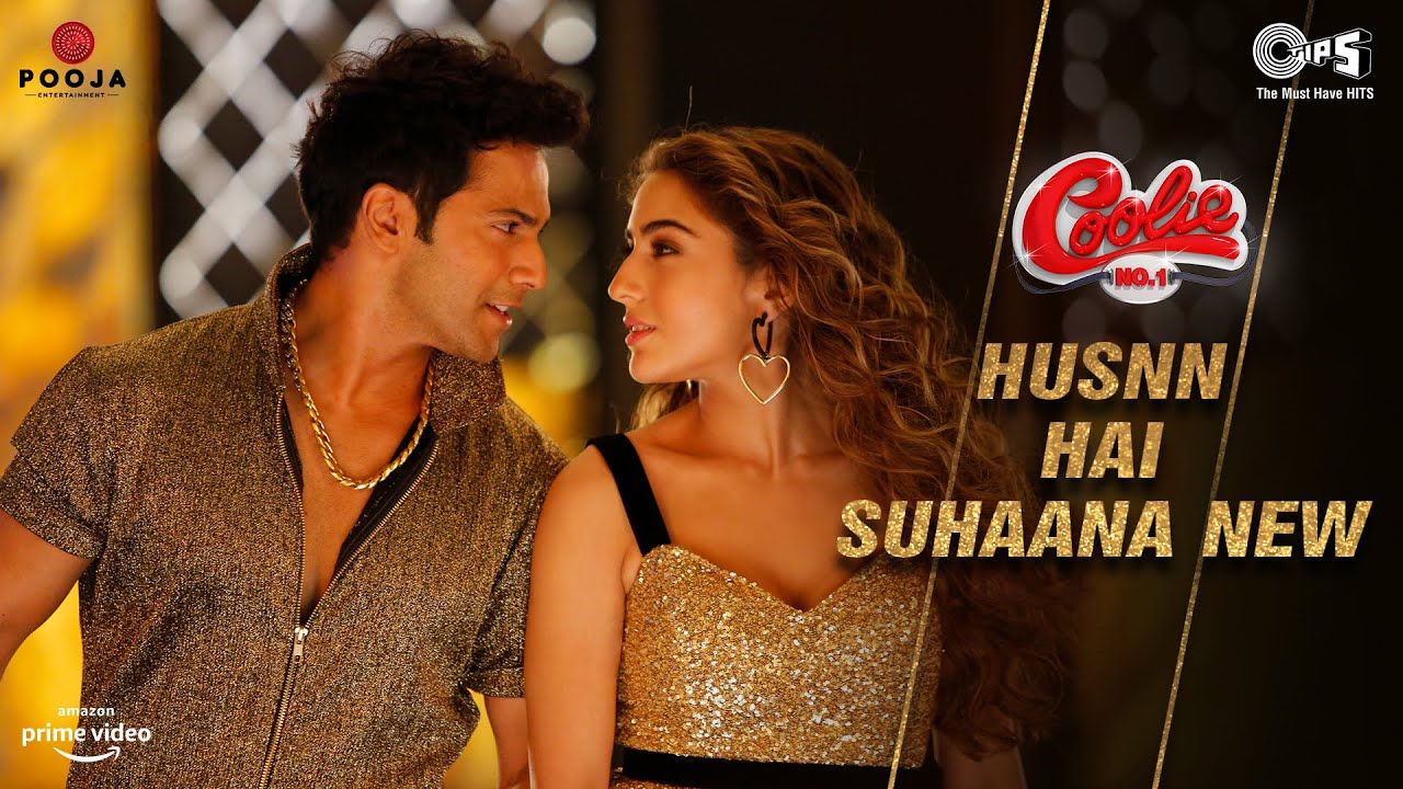 Husnn Hai Suhaana New (Coolie No.1) 2020 Hindi Video Song 1080p HDRip 84MB Download