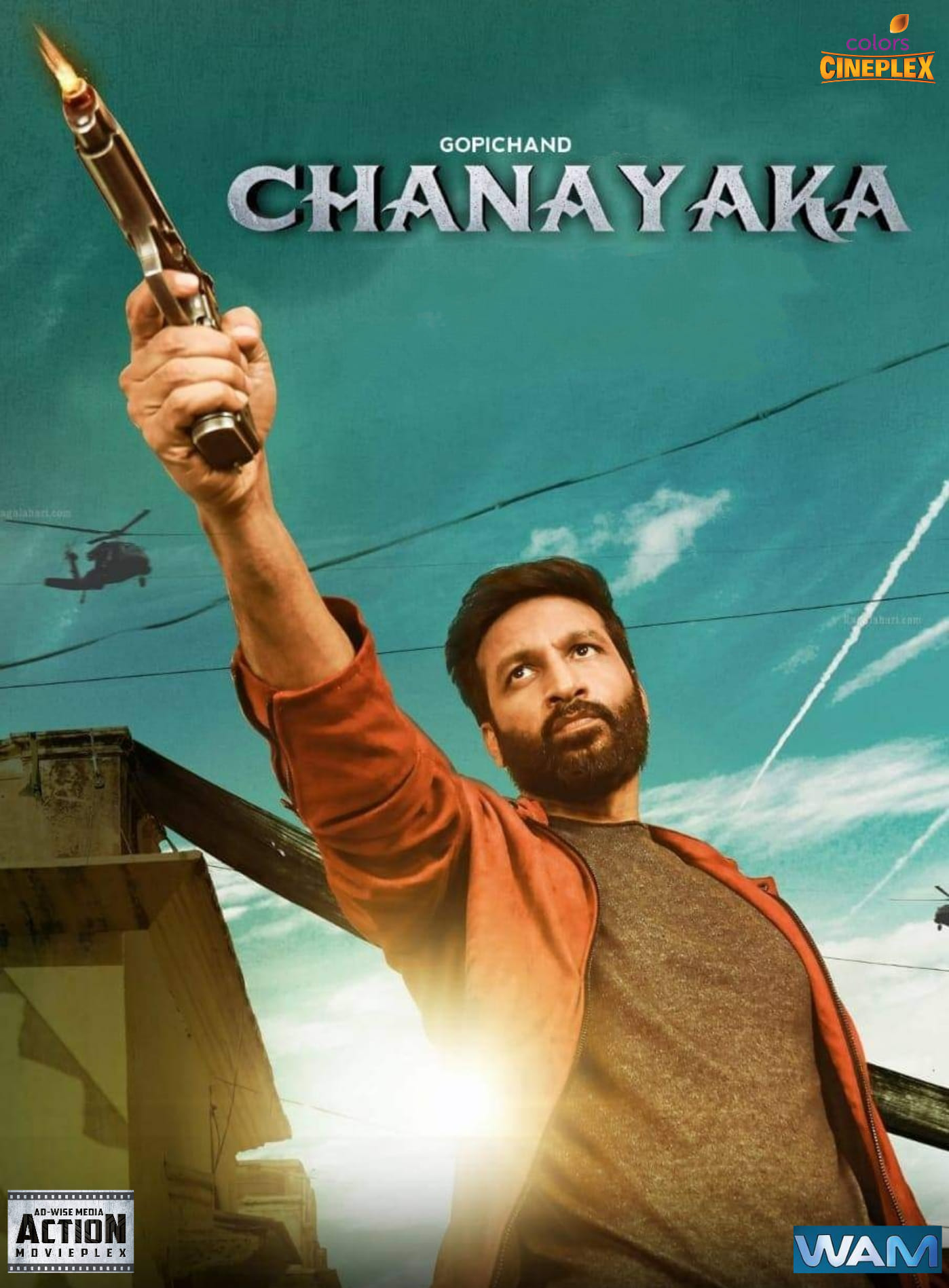 Chanakya 2020 Hindi Dubbed Offical Trailer 1080p HDRip 60MB Download