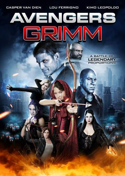 Avengers Grimm: Time Wars 2018 Hindi ORG Dual Audio 720p BluRay 900MB Download