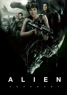 Alien Covenant 2017 Hindi Dual Audio 720p BluRay 900MB Download