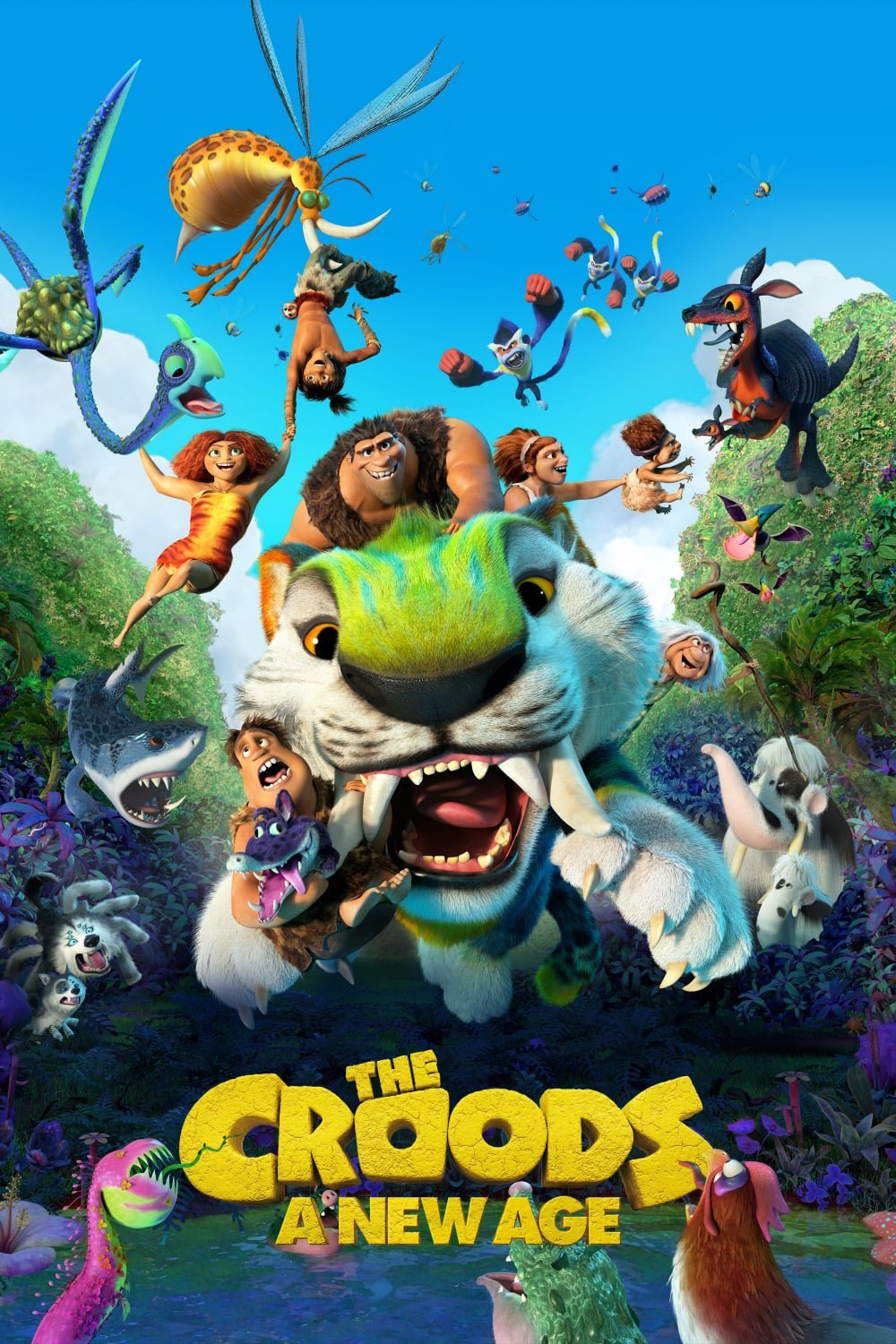 The Croods A New Age 2020 Dual Audio Hindi ORG (Cam) 720p BluRay 900MB ESubs Download