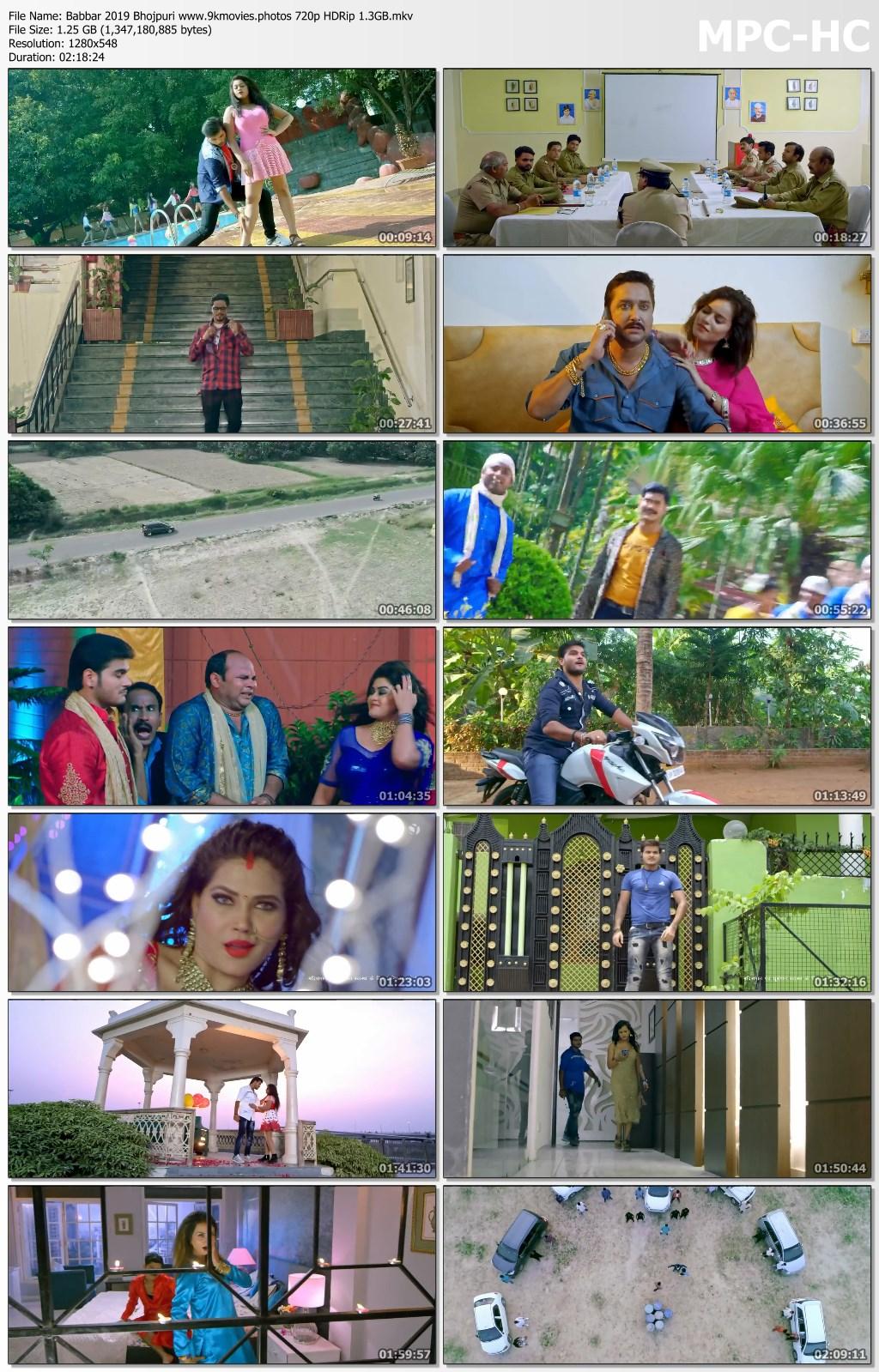 Babbar 2019 Bhojpuri 720p HDRip 1250MB Download