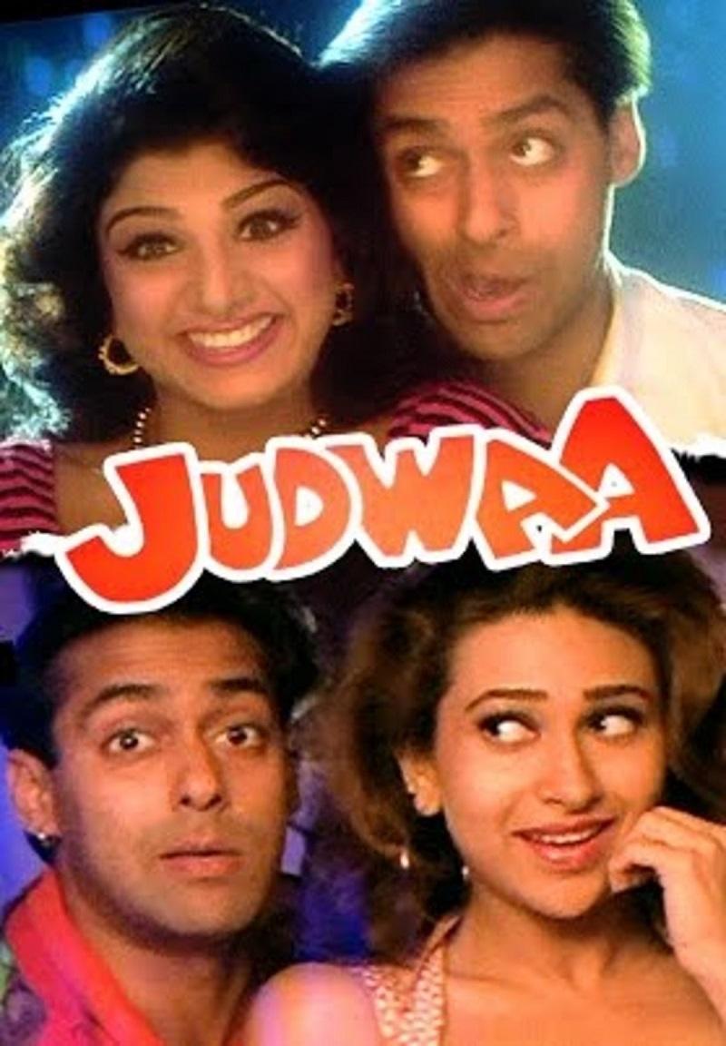 Judwaa 1997 Hindi 425MB HDRip ESubs Download