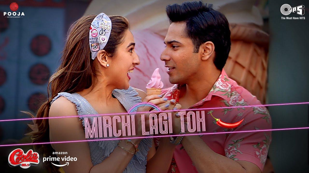 Mirchi Lagi Toh (Coolie No.1) 2020 Hindi Video Song 1080p HDRip 62MB Free Download
