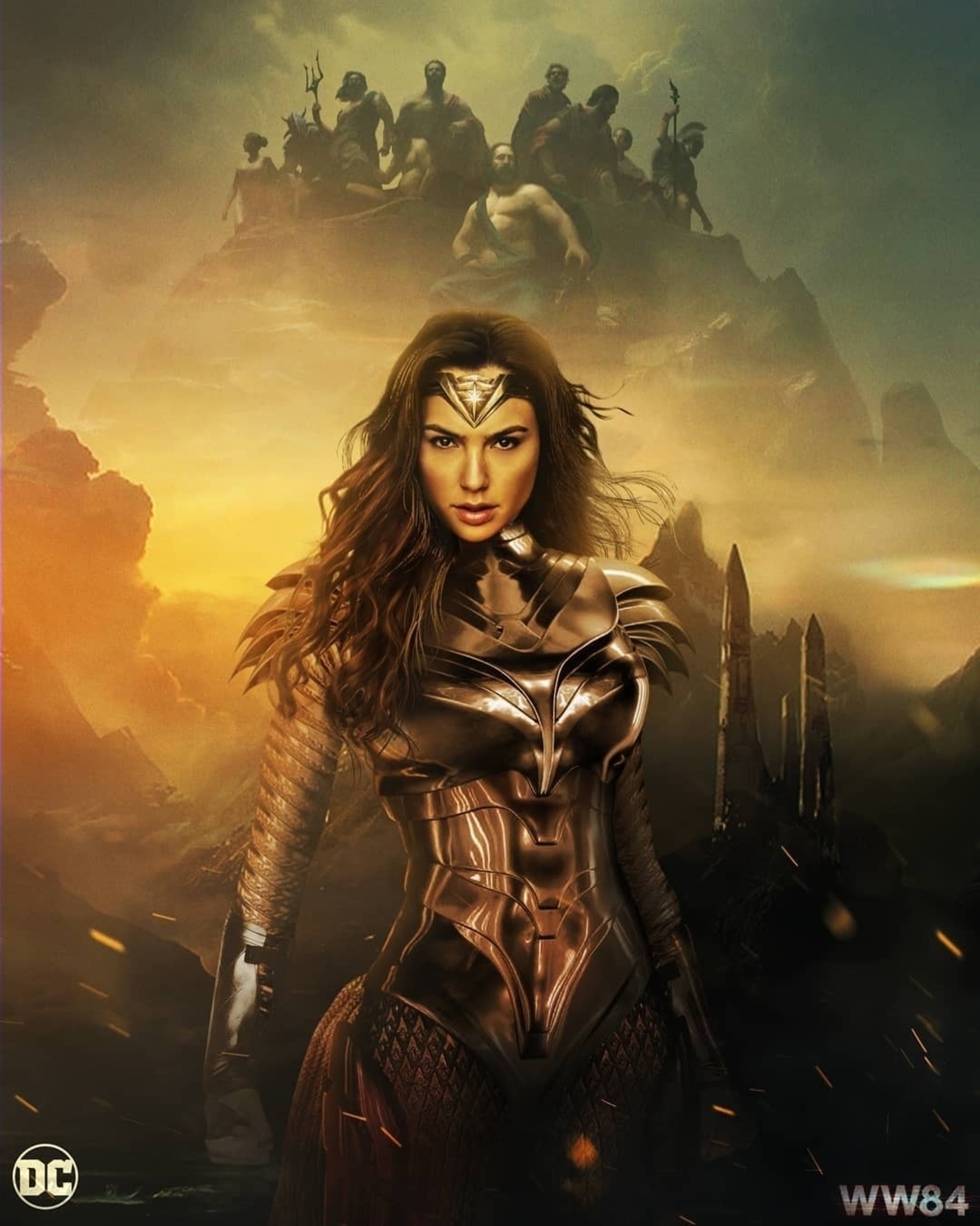 Wonder Woman 1984 (2020) Hindi Dual Audio 480p HDRip x264 400MB