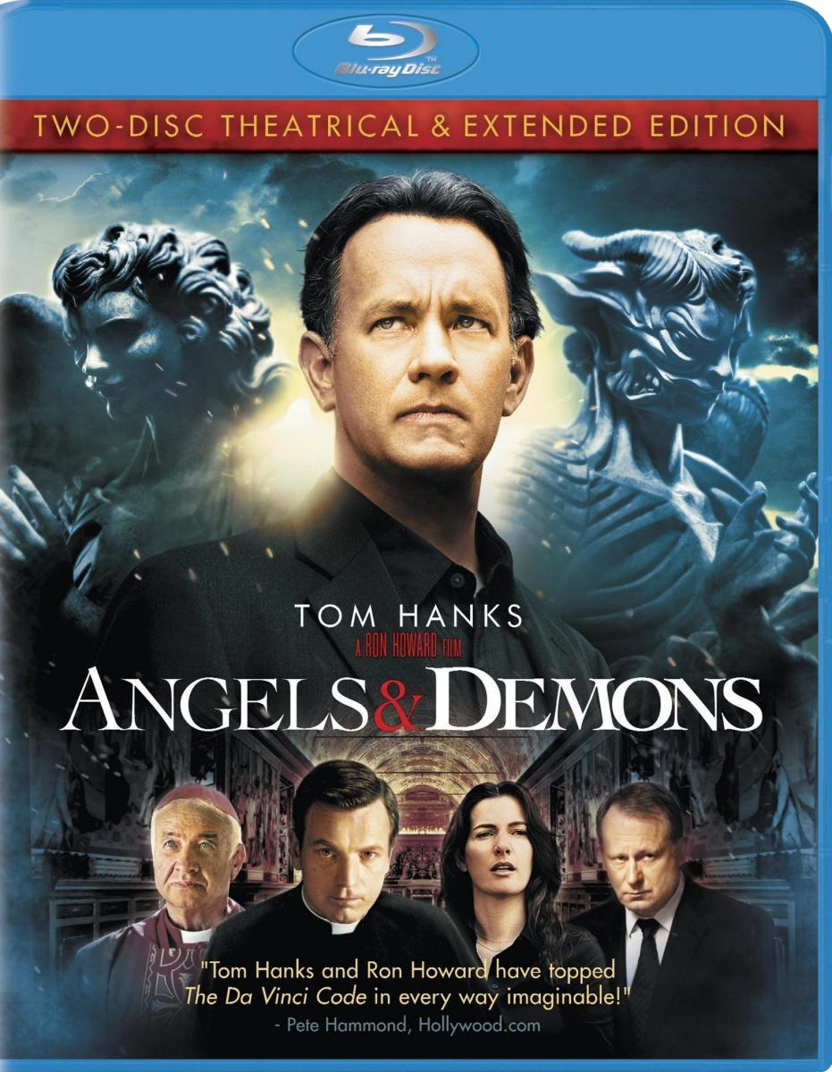 Angels & Demons 2009 Hindi Extended Cut Dual Audio 720p BluRay 1.1GB Download