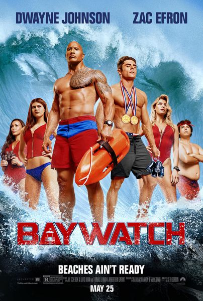 Baywatch 2017 Hindi Dual Audio 480p BluRay ESubs 400MB Download