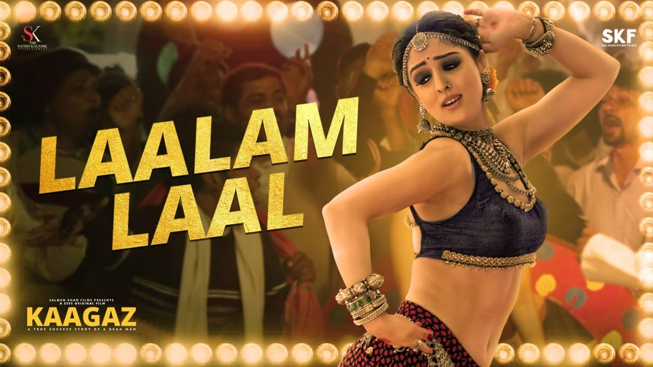 Laalam Laal (Kaagaz) 2021 Hindi Video Song 1080p HDRip 89MB Download