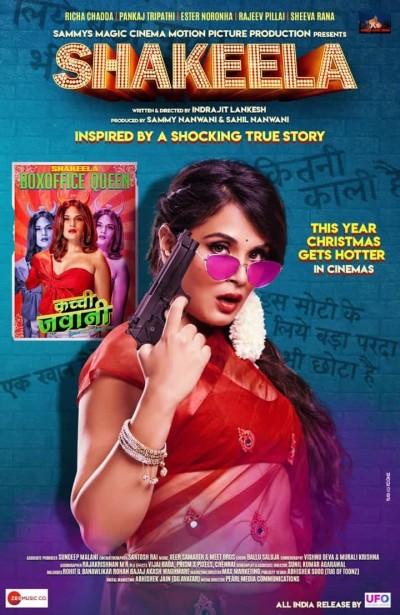 18+ Shakeela (2021) Hindi Movie 480p HDRip 300MB Watch Online
