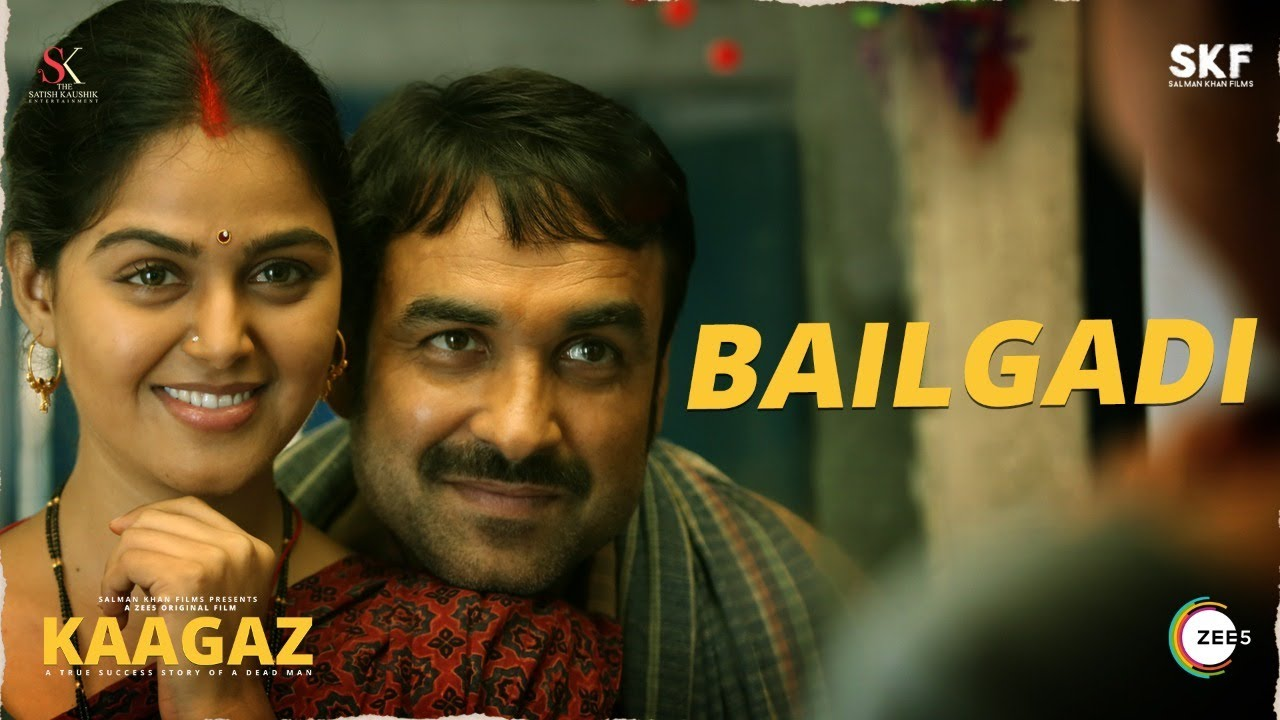 Bailgadi (Kaagaz 2021) Video Song By Udit Narayan & Alka Yagnik 1080p HDRip 63MB Download