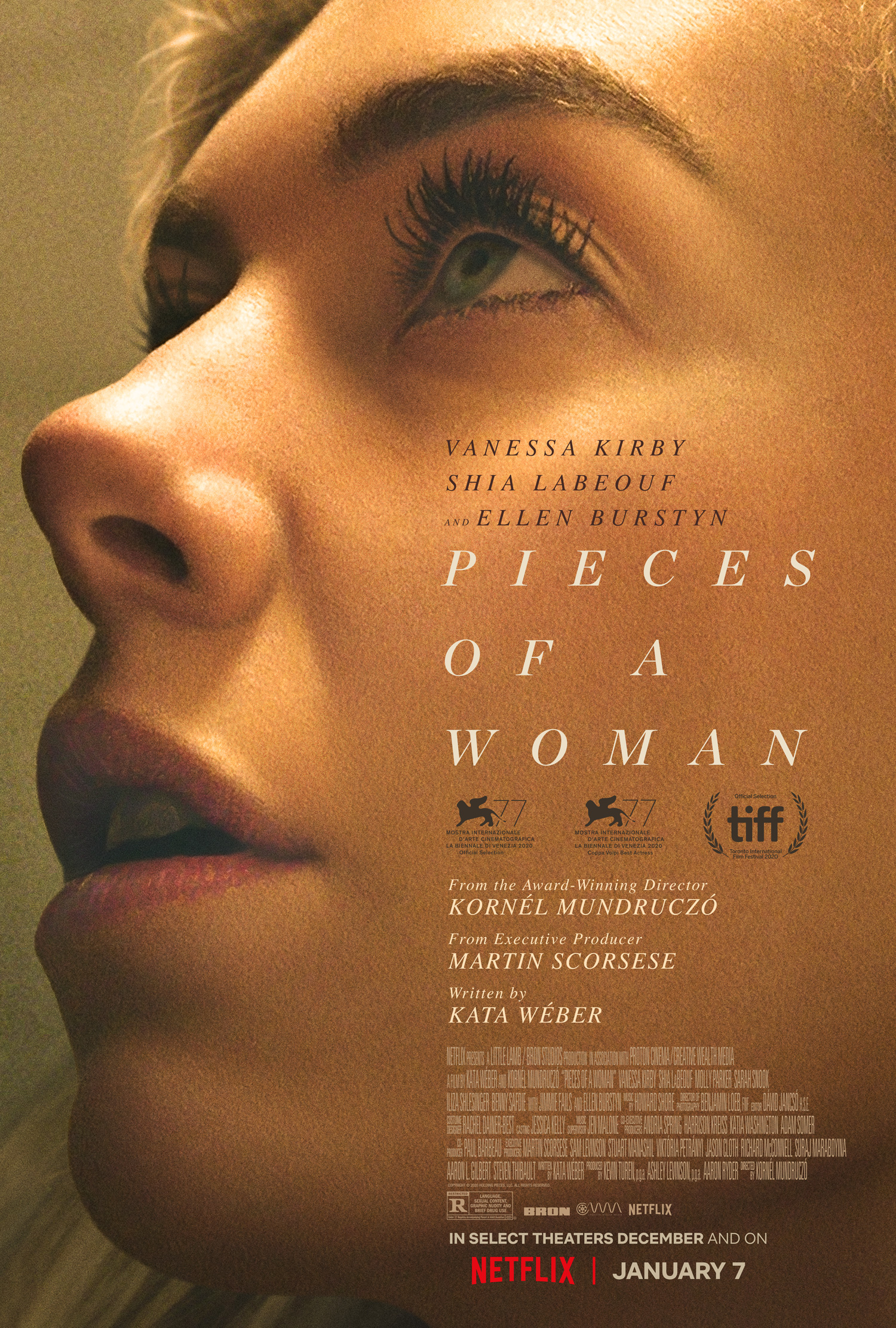 Pieces of a Woman 2021 English 450MB NF HDRip MSub Download