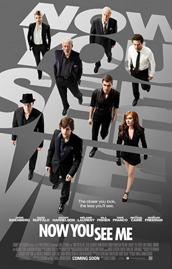 Now You See Me 2013 EXTENDED Hindi Dual Audio 440MB BluRay ESubs