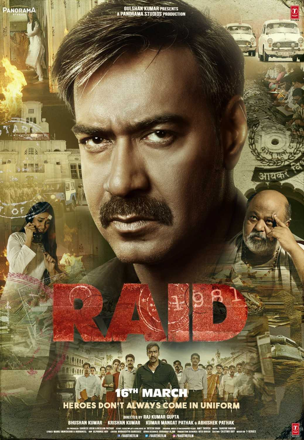 Raid 2018 Hindi 720p BluRay 1GB Download