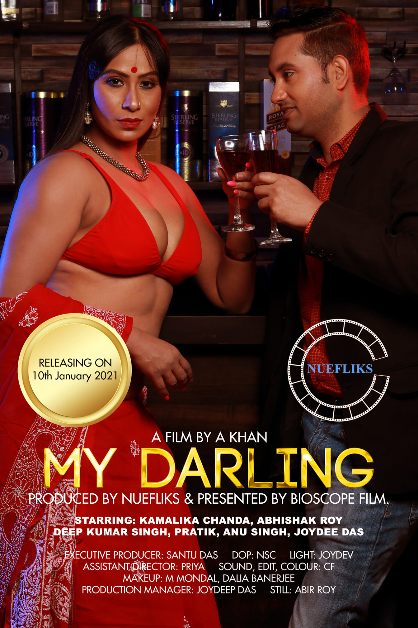 18+ My Darling 2021 Nuefliks Original Hindi Short Film 720p HDRip 500MB Download