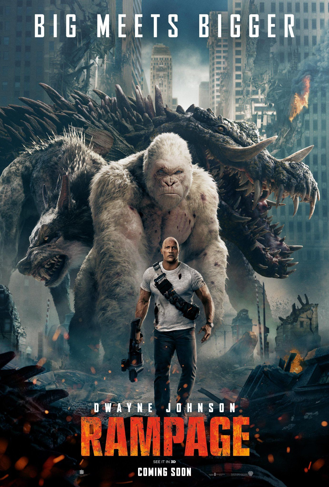 Rampage 2018 Dual Audio Hindi 720p BluRay 800MB Download