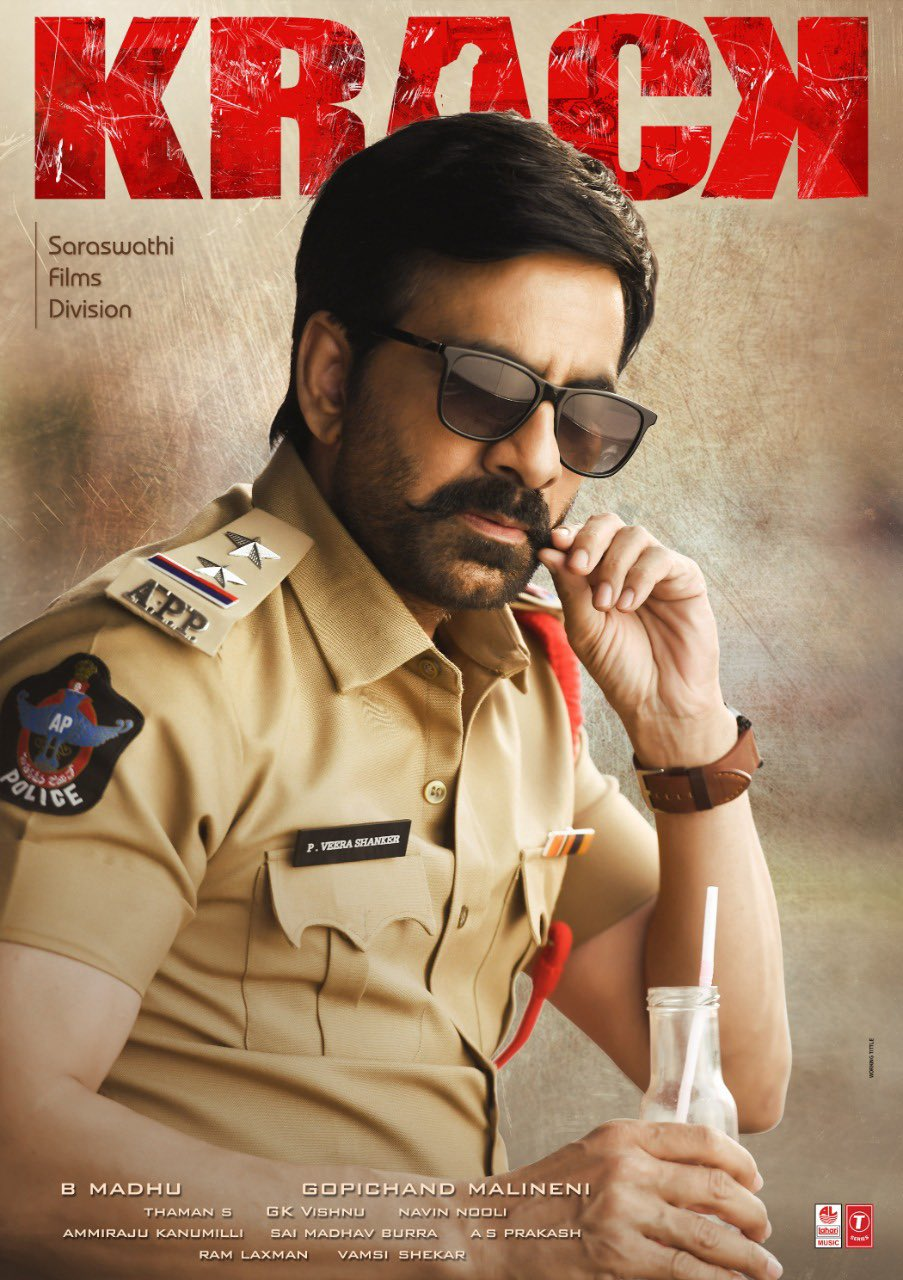 Krack 2021 Telugu Full Movie 420MB HQ DVDSrc Download