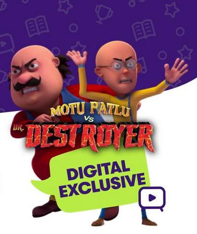 Motu Patlu Vs Dr Destroyer 2021 ORG Bangla Dubbed 720p HDRip 600MB Download