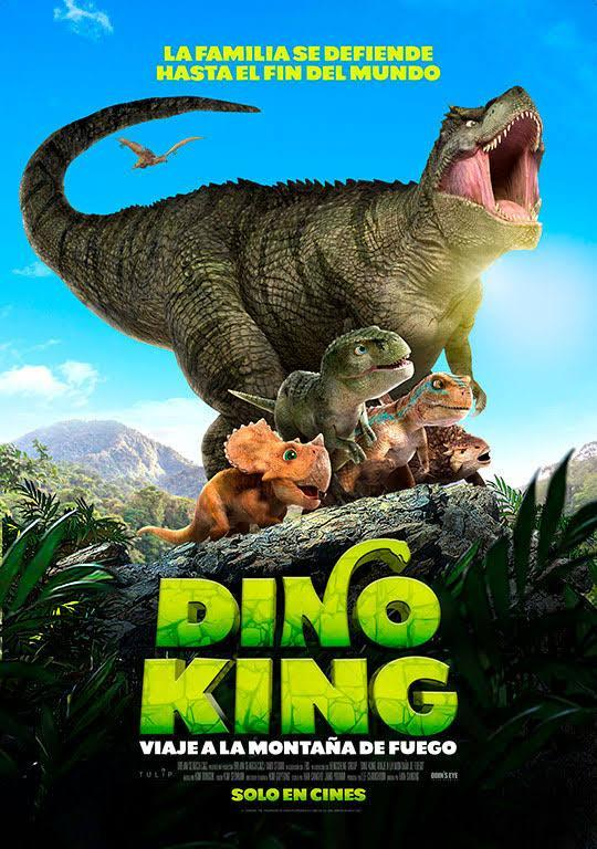 Dino King 3D: Journey to Fire Mountain 2019 Hindi Dubbed 300MB AMZN HDRip Download