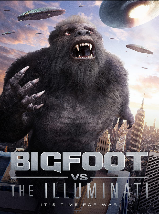 Bigfoot Vs The Illuminati 2020 English 720p HDRip 700MB Download