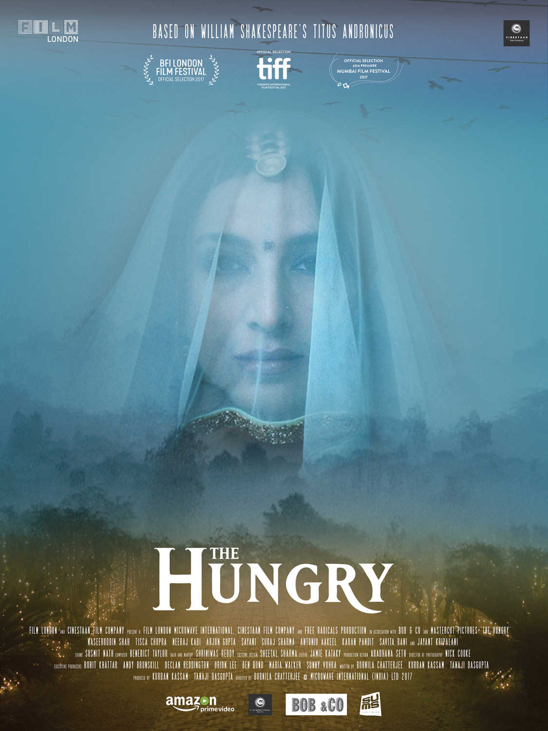 The Hungry 2017 Hindi 720p AMZN HDRip 650MB Download
