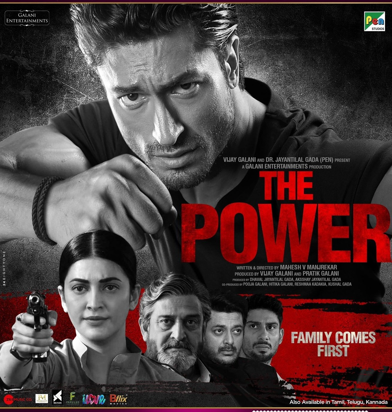 The Power 2021 Hindi 450MB ZEE5 HDRip 480p ESubs Download
