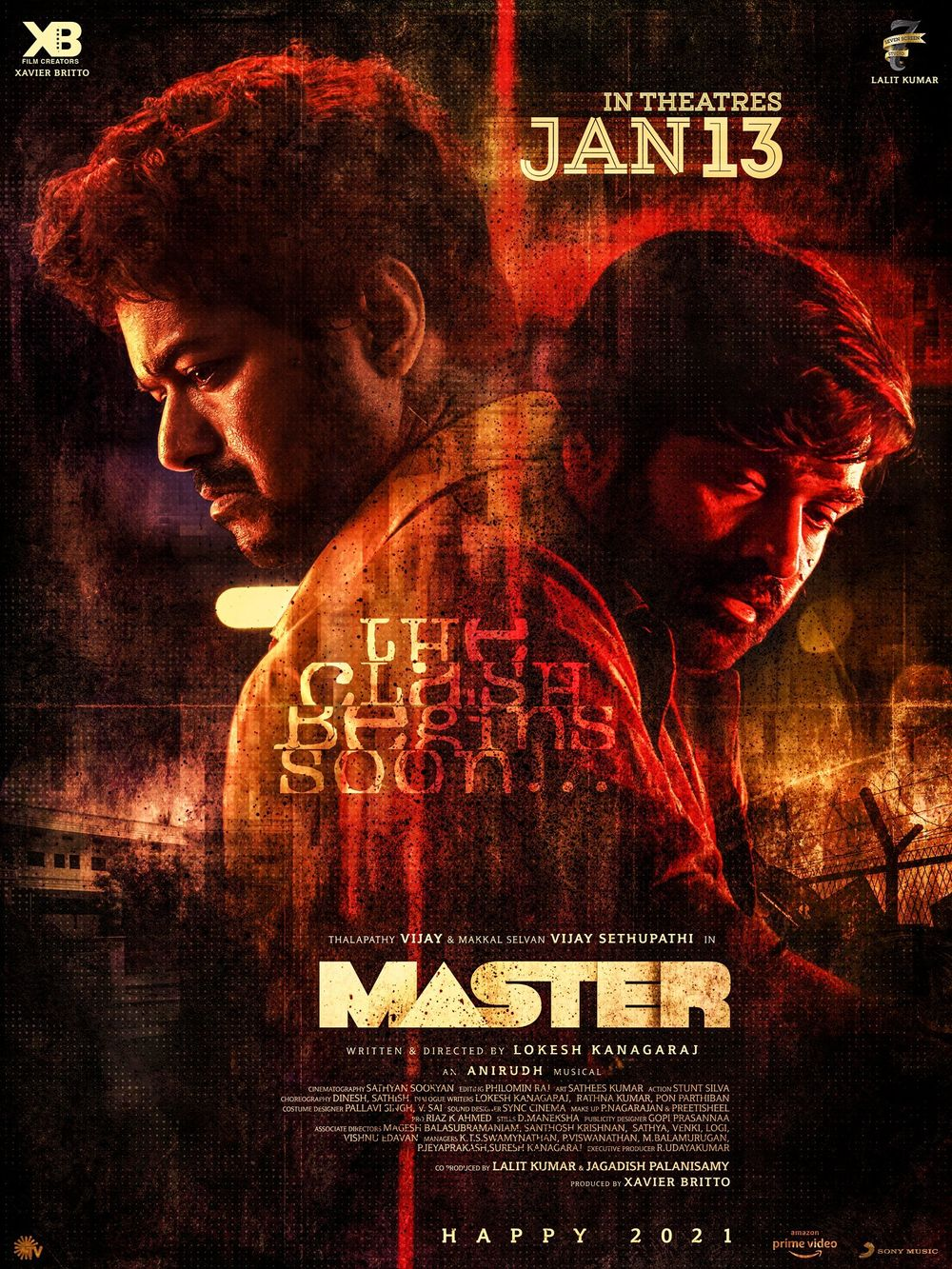 Download Master 2021 Hindi Dubbed 480p PreDVDRip 530MB