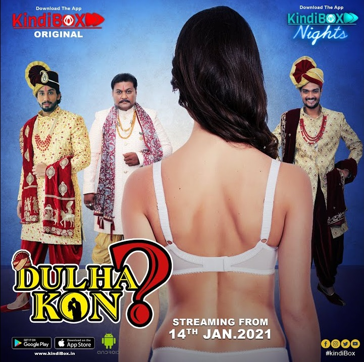 18+ Dulhakon 2021 S01EP01 KindiBOX Nights Original Hindi Web Series 720p HDRip 150MB x264 AAC