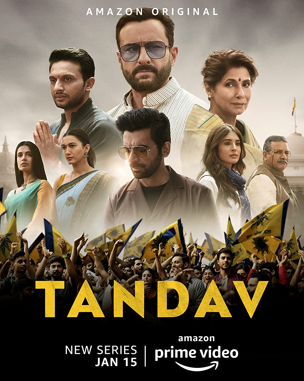 Tandav S01 2021 Hindi Amazon Original Complete Web Series 480p HDRip 960MB Download