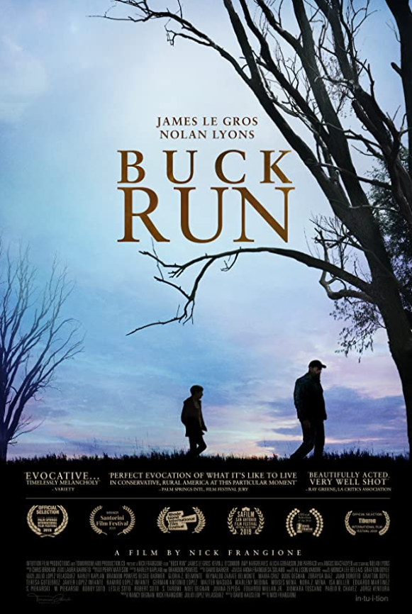 Buck Run 2021 English HDRip 300MB Download