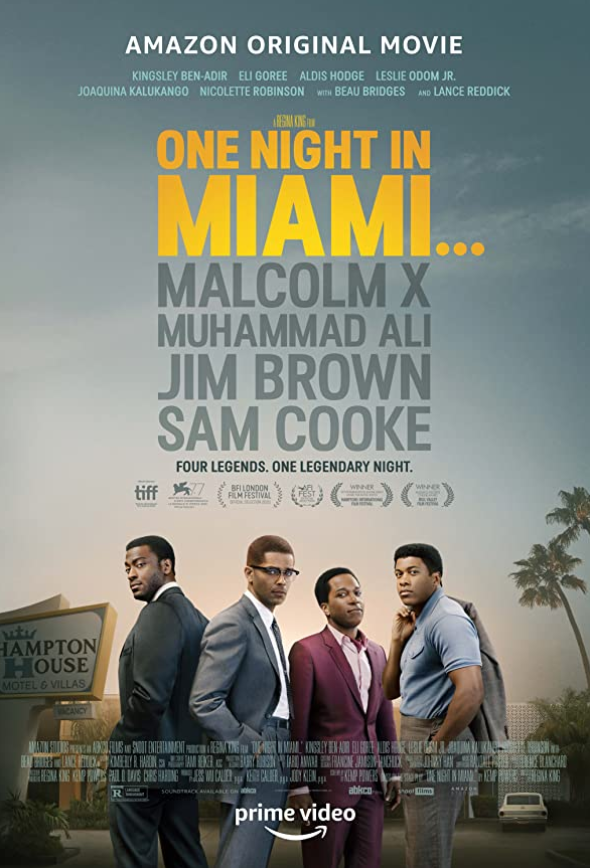 One Night in Miami 2021 English 720p HDRip ESub 800MB | 350MB