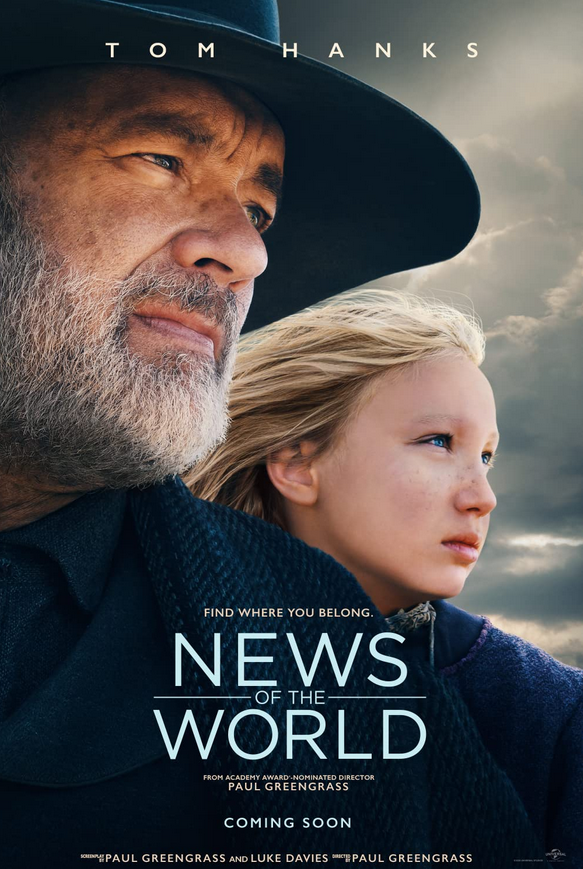 News of the World 2020 English 720p HDRip 800MB Download