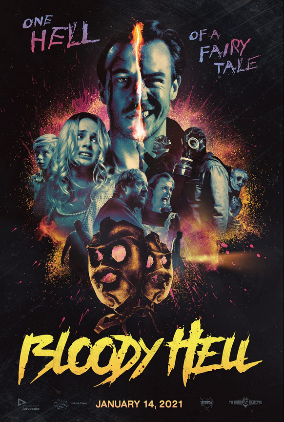 Bloody Hell 2021 English 720p HDRip 800MB | 300MB  Download