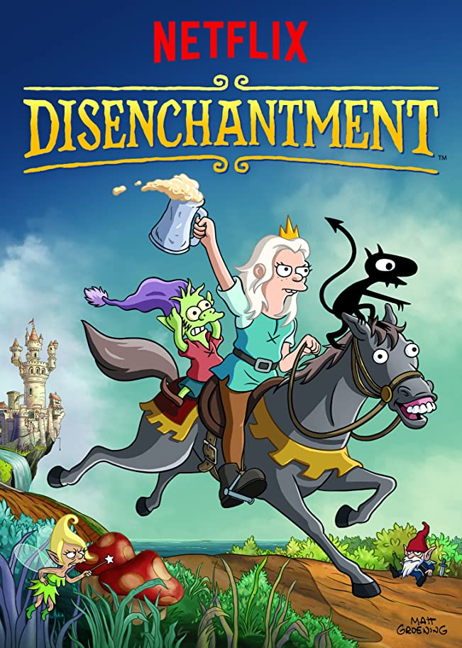 Disenchantment 2021 S03 Hindi Netflix Complete Series 480p HDRip 900MB Download