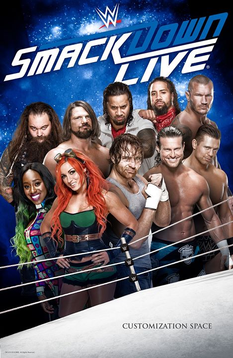 WWE Friday Night Smackdown (15th January 2021) English 720p HDRip 950MB | 270MB Download