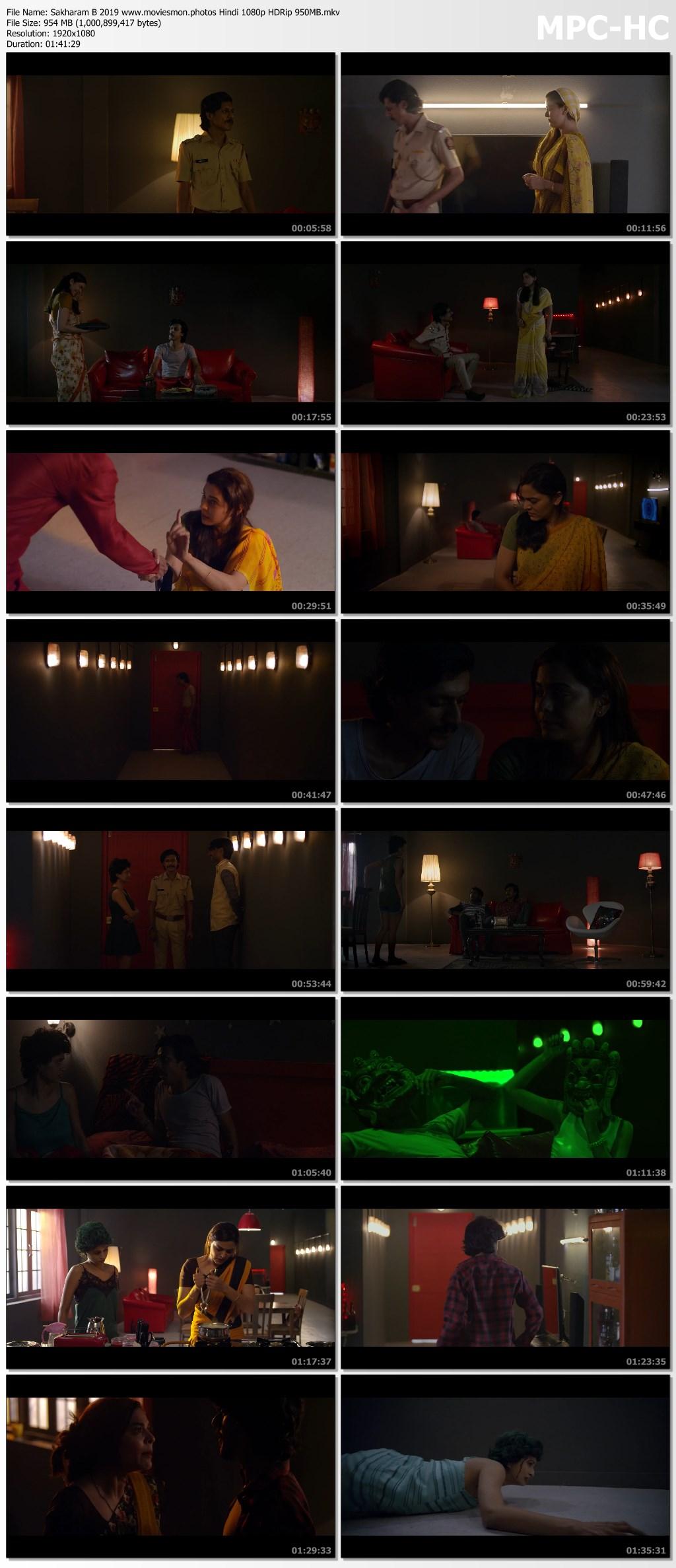 Sakharam B 2019 Hindi Full Movie 1080p HDRip 950MB Download
