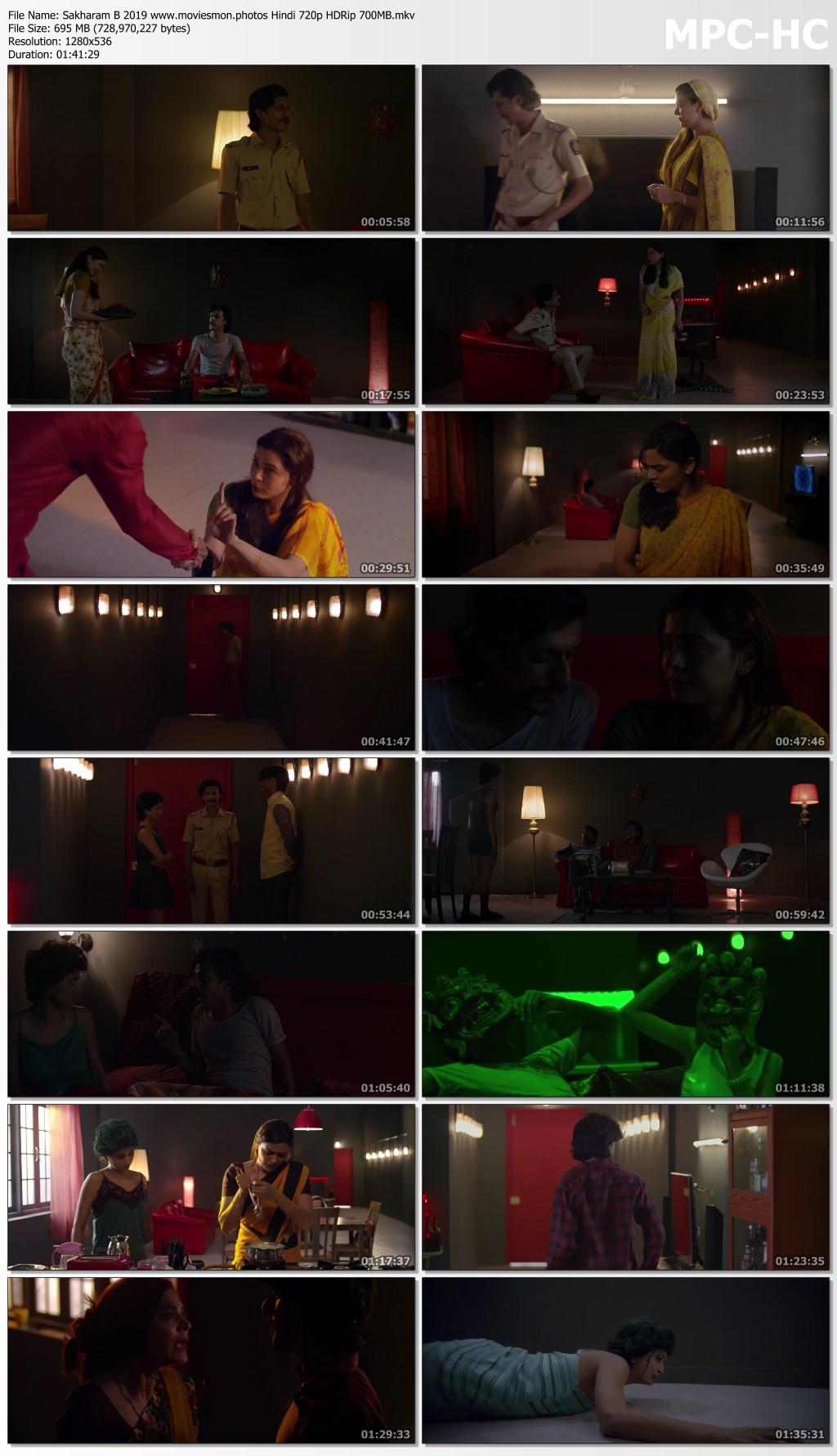 Sakharam B 2019 Hindi Full Movie 720p HDRip 690MB Download