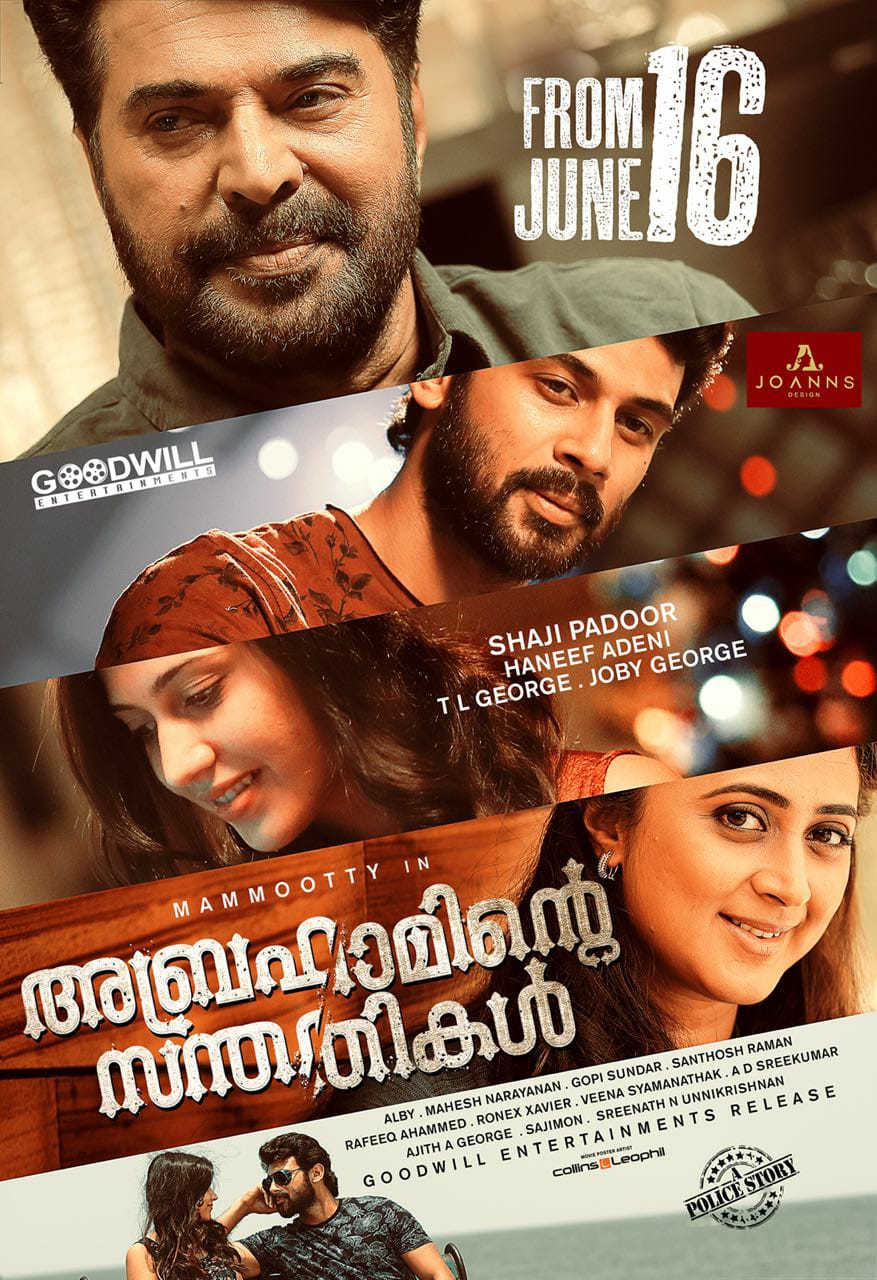 Abrahaminte Santhathikal (Babbar The Police) 2018 Dual Audio Hindi 1080p UNCUT HDRip 2.7GB Download