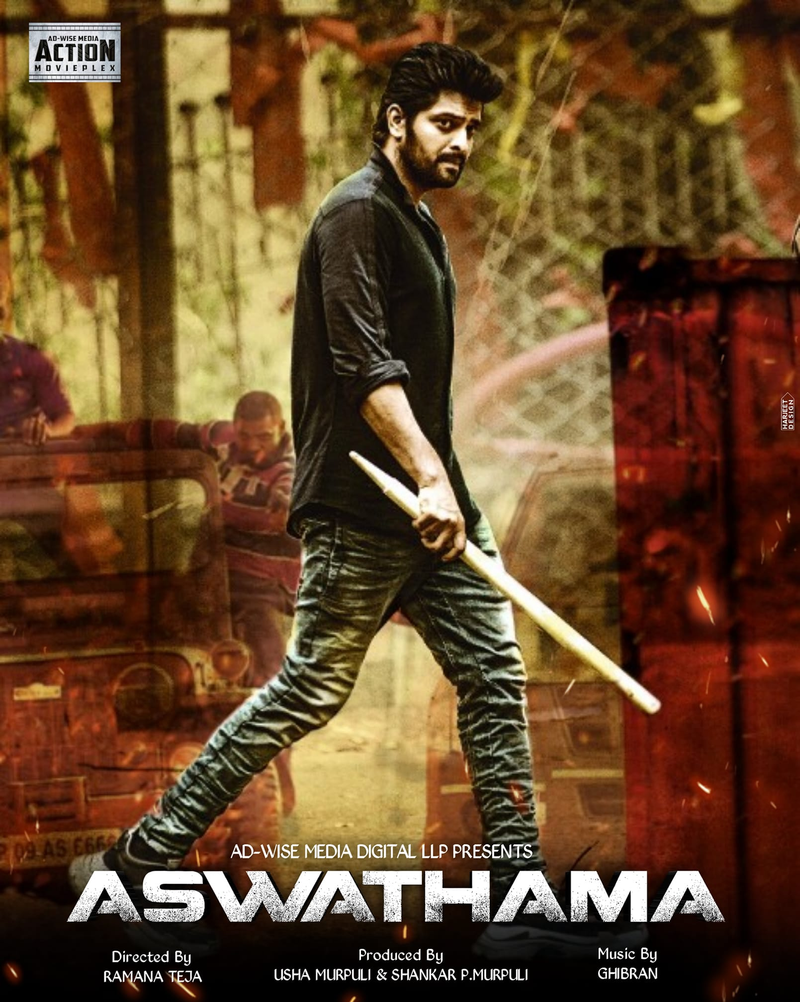 Aswathama (2021) Hindi Dubbed 1080p HDRip 2.1GB Download