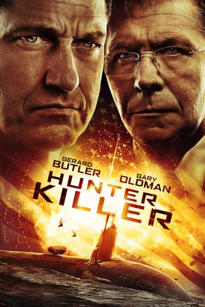 Hunter Killer 2018 Dual Audio Hindi 600MB BluRay Download
