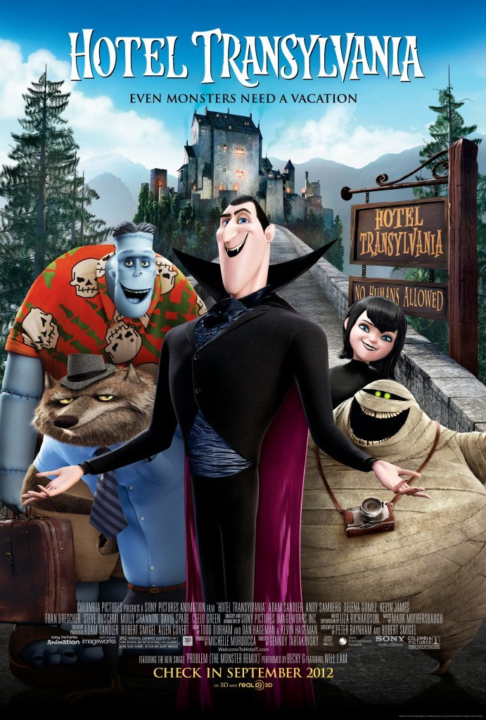 Hotel Transylvania 2012 Hindi Dual Audio 325MB BluRay Download