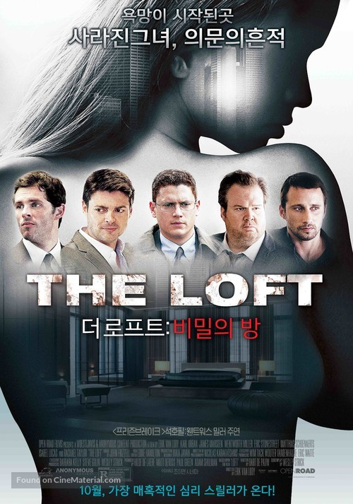 18+ The Loft 2014 Hindi (HQ) 1080p BluRay 1.7GB x264 AAC