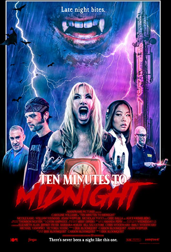 Ten Minutes to Midnight 2021 English 720p HDRip 800MB | 255MB Download