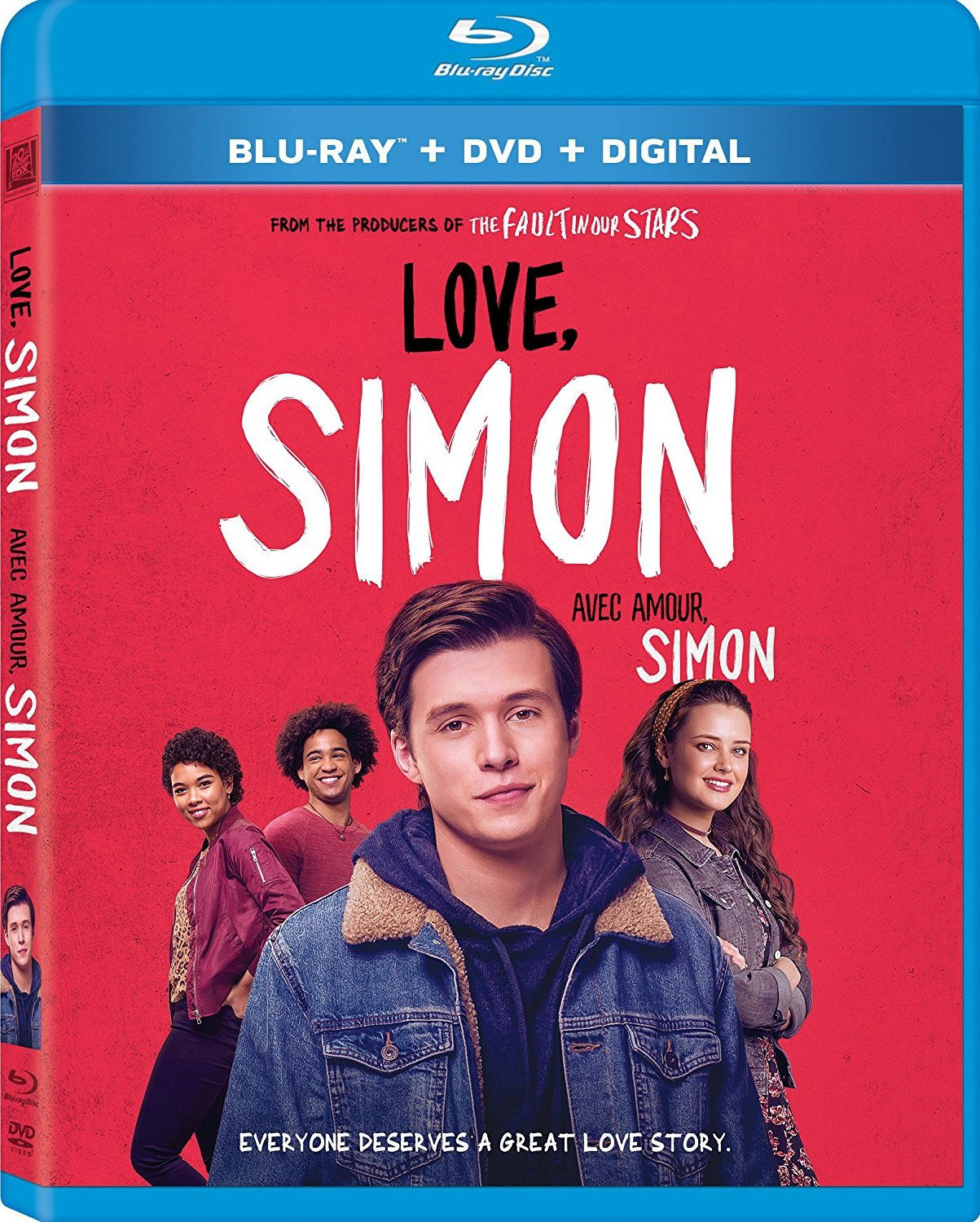 Love, Simon 2018 Hindi Dual Audio 470MB BluRay ESubs Download